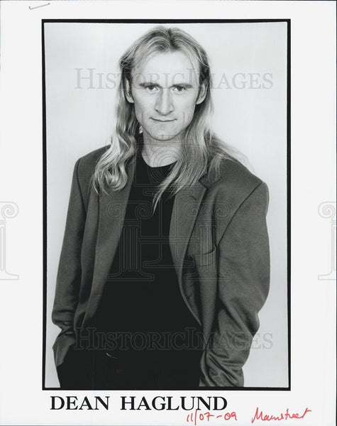 2009 Press Photo of Canadian actor Dean Haglund - Historic Images