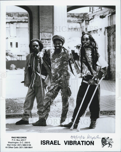 Press Photo Musical group Israel Vibration - Historic Images