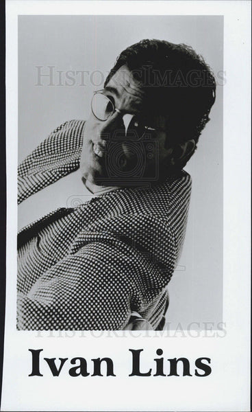Press Photo Latin Singer Ivan Lins - Historic Images