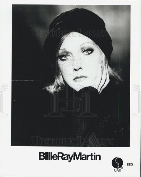 Press Photo Billie Ray Martin - Historic Images