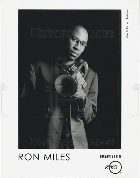 Press Photo Ron Miles Musician - Historic Images