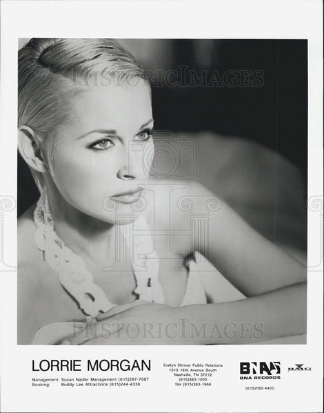 Press Photo Lorrie Morgan - Historic Images