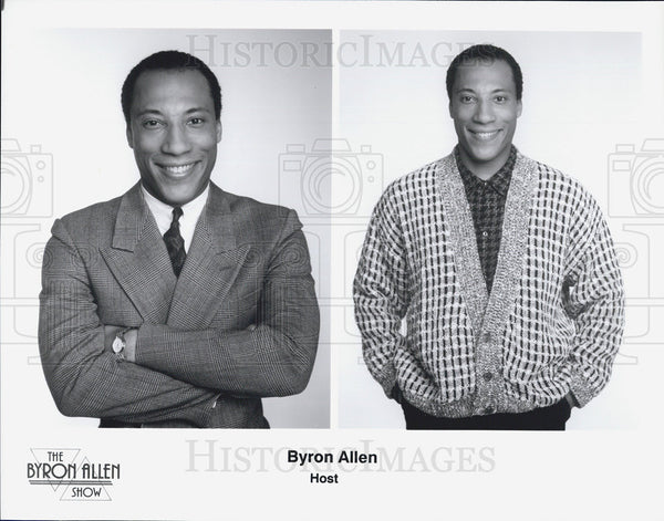 Press Photo Byron Allen hosts The Byron Allen Show - Historic Images