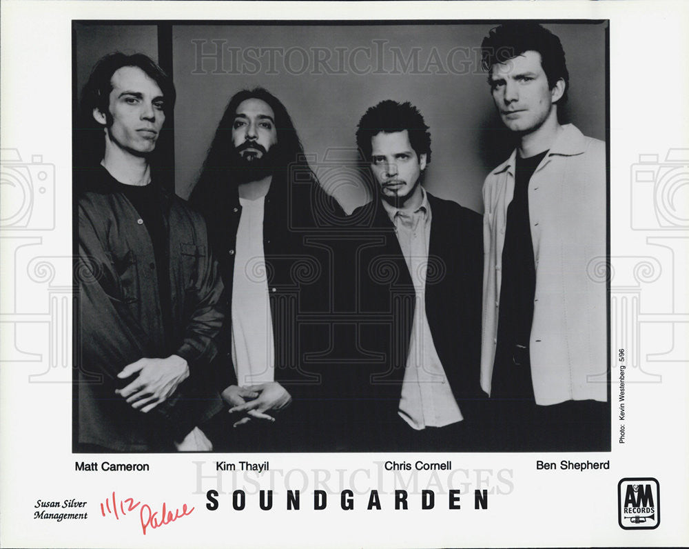 Press Photo Musical Group Soundgarden - Historic Images