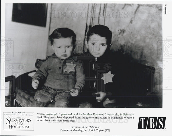 "1944 Press Photo ""Survivors of the Holocaust"" on TBS - Historic Images"