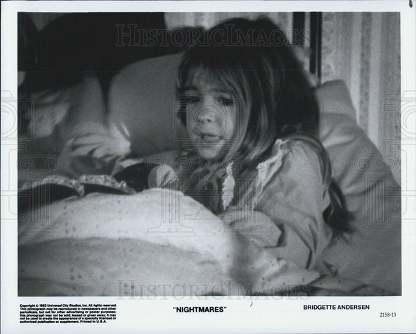 "Press Photo Bridgette Andersen stars in ""Nightmares"". - Historic Images"
