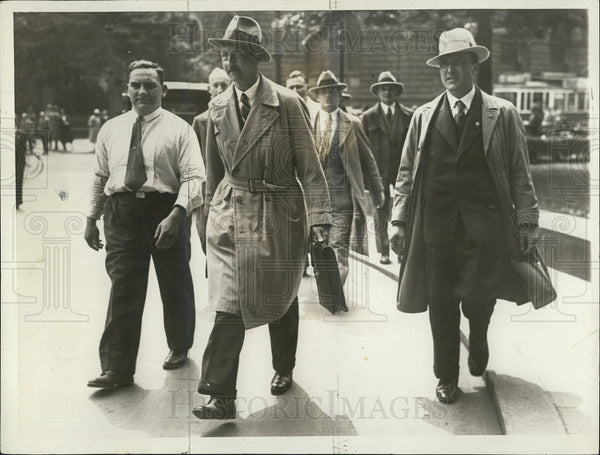 1932 Press Photo Prince August Wilhelm, son of ex-kaiser of Germany. - Historic Images