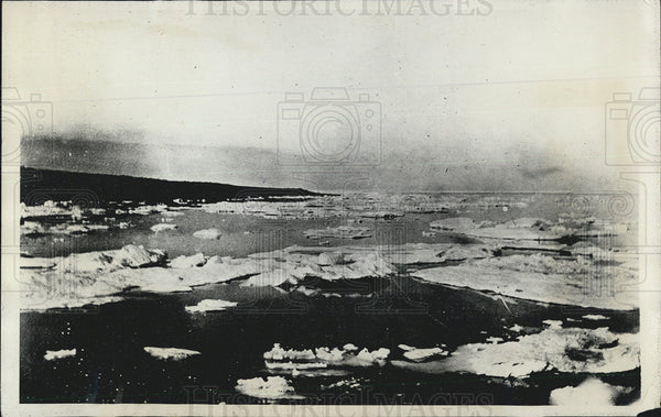 1928 Press Photo Ice at Greenly Island - Historic Images