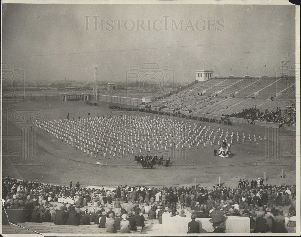 1926 Press Photo Sesquicentennial Exposition Philadelphia Stadium View - Historic Images