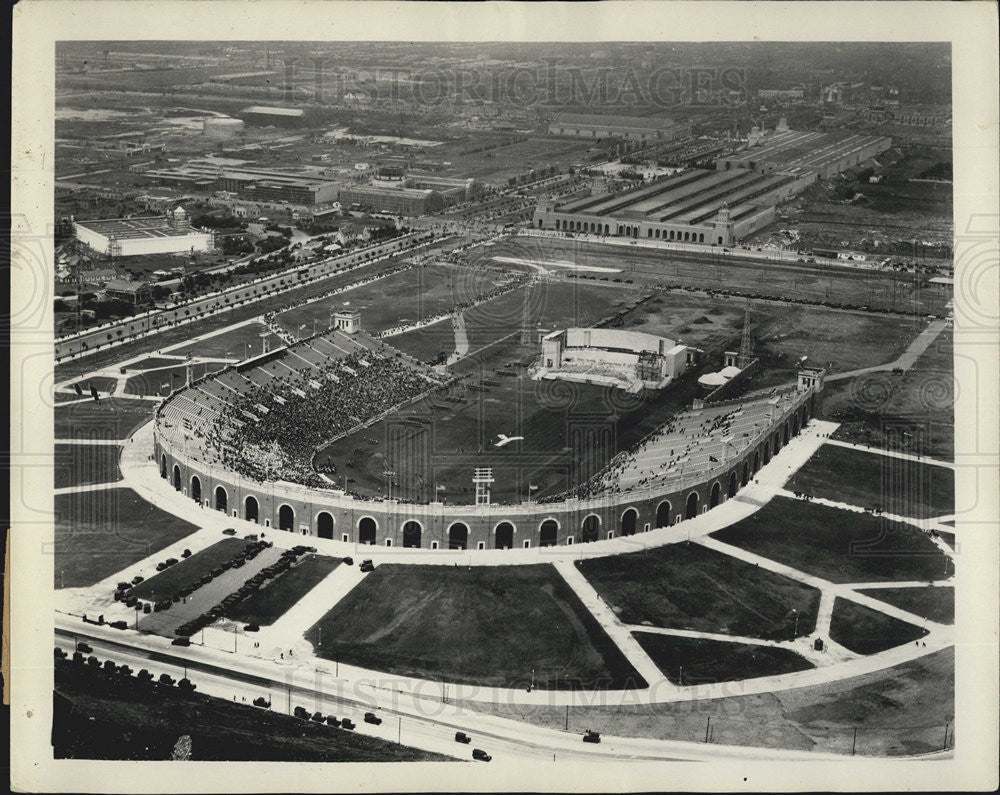 1926 Press Photo Aerial view os Stadium for Philiselphia - Historic Images