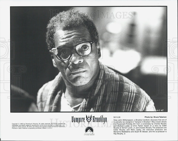 "1995 Press Photo John Witherspoon in ""Vampire in Brooklyn"" - Historic Images"