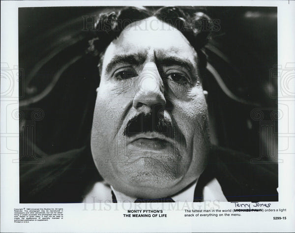1963 Press Photo Terry Jones Director Monty Python's Meaning of Life - Historic Images