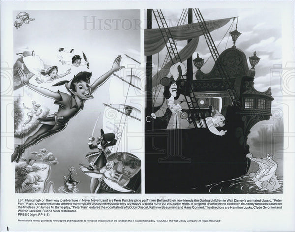 1952 Press Photo PETER PAN Movie Picture - Historic Images