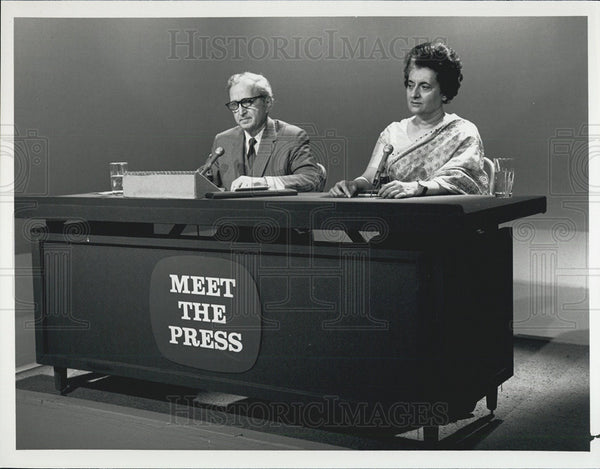 "Press Photo TV Show ""Meet The Press"" - Historic Images"