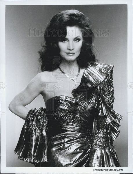 "1986 Press Photo Kate O'Mara in 'Dynasty"" - Historic Images"