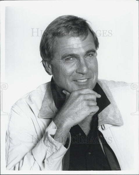 Press Photo Gil Gerard Actor E.A.R.T.H. Force Drama Television Series Show - Historic Images