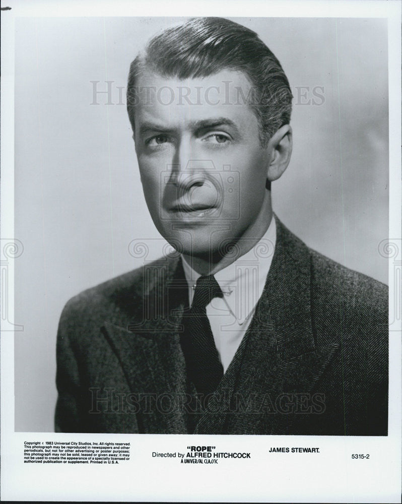"1948 Press Photo James Stewart in ""Rope."" - Historic Images"