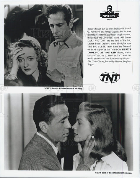 "Copy Photo ""Dark Victory"", 1939 and ""The Big Sleep"" 1946 - Historic Images"