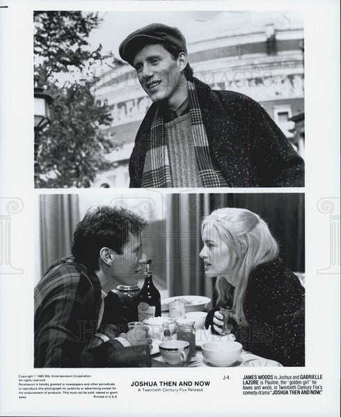 "1965 Press Photo James Woods & Gabrielle Lazure in ""Joshua Then and Now"" - Historic Images"