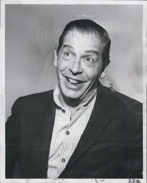 1957 Press Photo Milton Berle - Historic Images