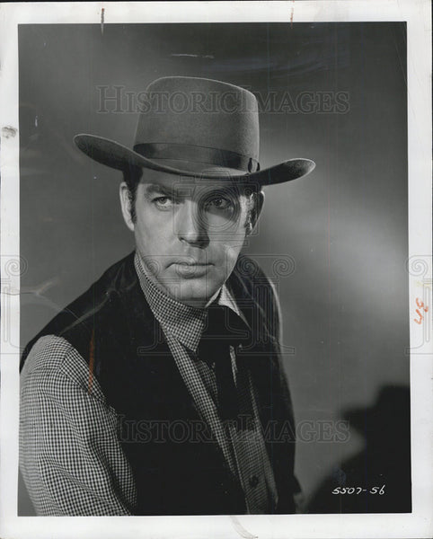 1956 Press Photo Fred MacMurray - Historic Images