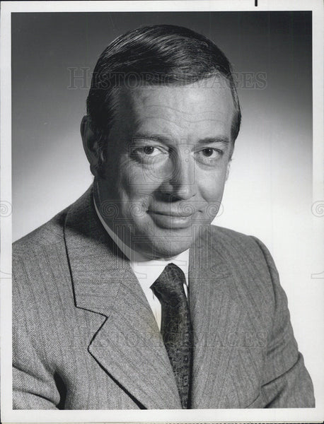 "Press Photo Broadcaster Hugh Downs in ""Today"" - Historic Images"