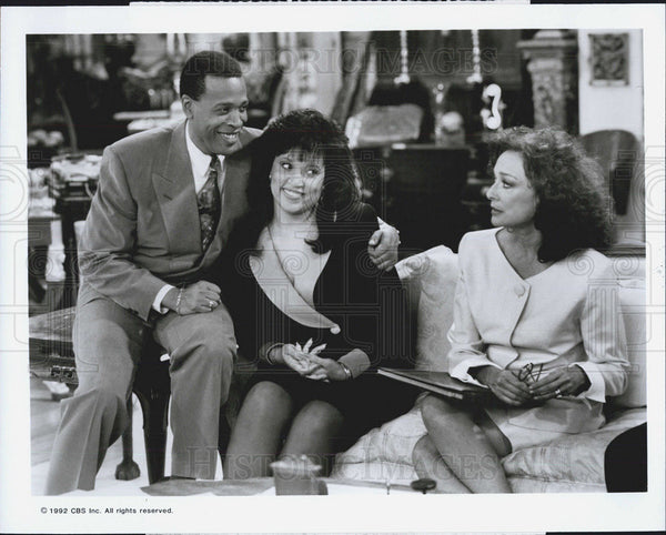 Meshach Taylor Jackee Designing Women TV Show 1992 Press Photo - Historic Images