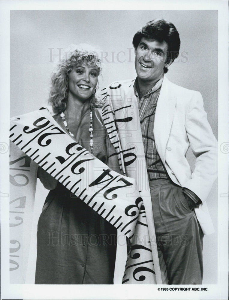 1985 Press Photo Alan Thick Joanna Kerns Actress Growing Pains Comedy Sitcom - Historic Images