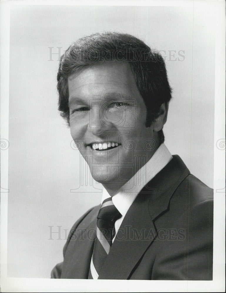 "Press Photo ABC Television Game Show Host Tom Kennedy ""Split Second"" - Historic Images"