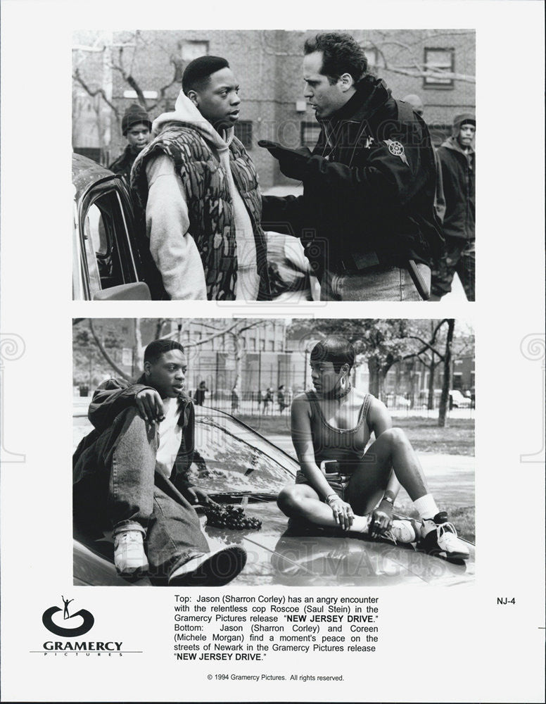 "1994 Press Photo scene from ""New Jersey Drive"" . - Historic Images"