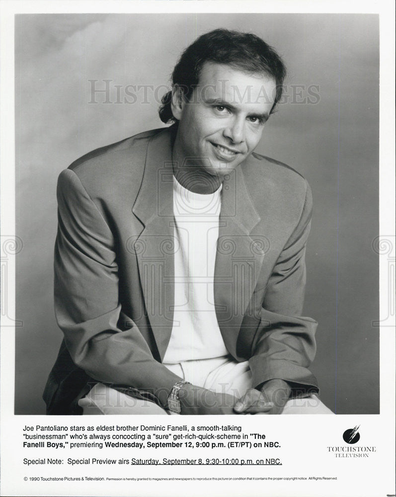 "1990 Press Photo Joe Pantoliano Stars As Dominic Fanelli In 'The Faneilli Boys"" - Historic Images"
