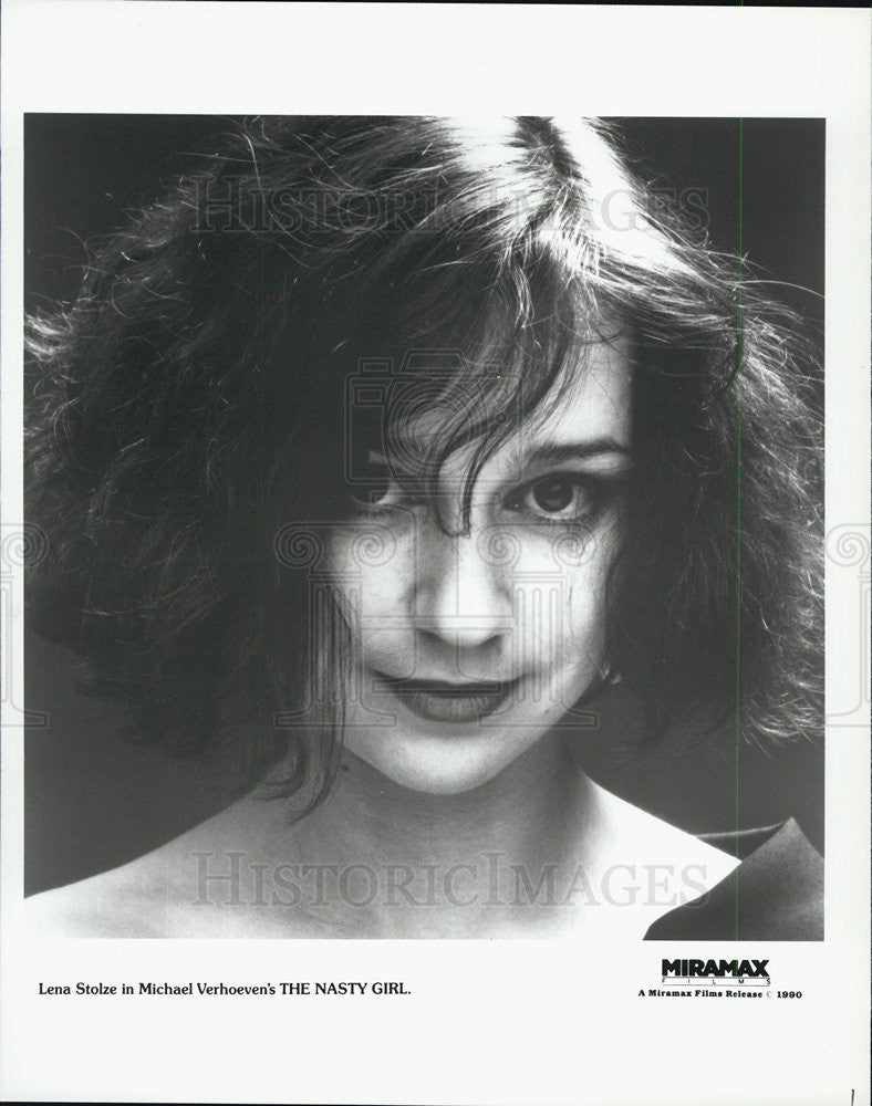 "1990 Press Photo ""The Nasty Girl"" - Historic Images"