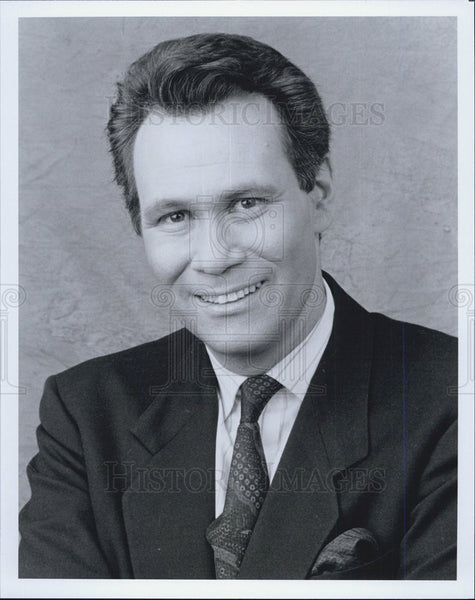 "Press Photo Bob Berkowitz host of ""Real Personal"" CNBC - Historic Images"