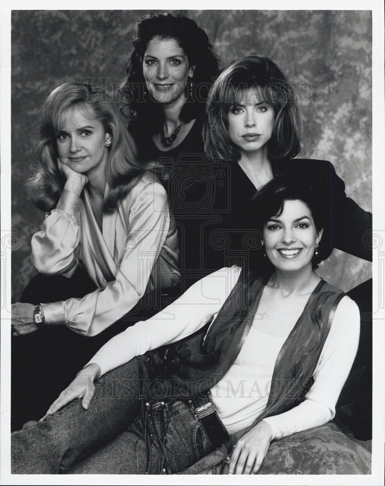 "1992 Press Photo ""Sisters""Swoosie Kurtz,Pat Kalember,Julianne Phillips,Sela Ward - Historic Images"