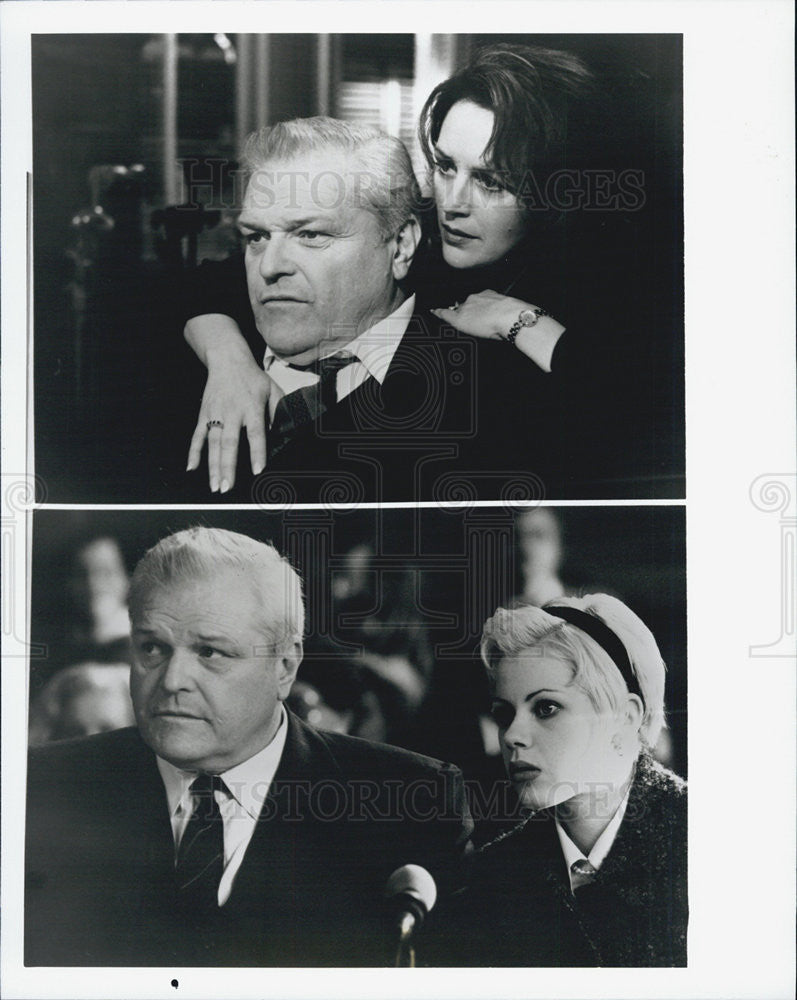 Press Photo Shadow Of A Doubt Film Brian Dennehy Bonnie Bedelia Fairuza Balk - Historic Images