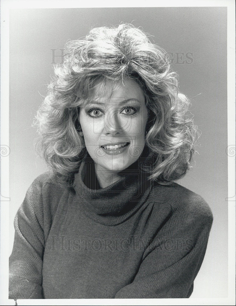 "1987 Press Photo ""Matlock"" Nancy Stafford - Historic Images"