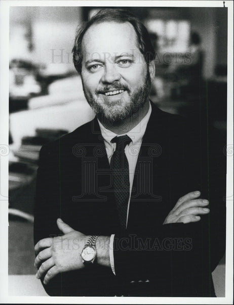1986 Press Photo Correspondent Lucky Severson - Historic Images