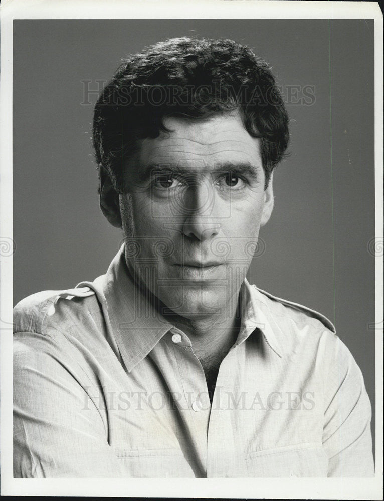 Press Photo Actor Elliott Gould Stars In CBS Television Show Together We Stand - Historic Images