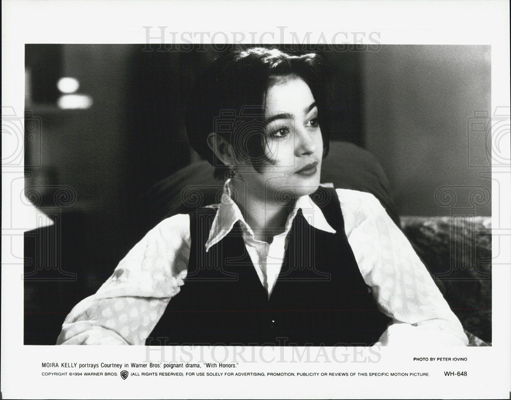 1994 Press Photo Actress Moira Kelly With Honors - Historic Images