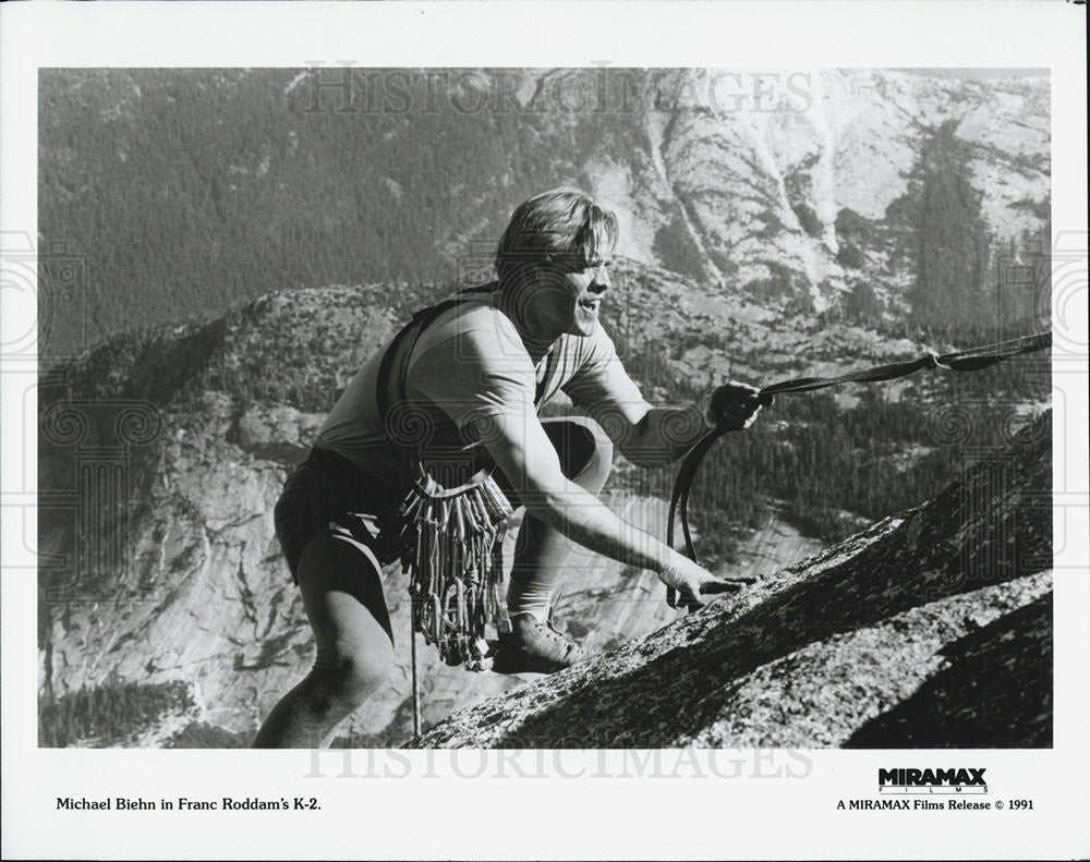Press Photo Michael Biehn in K2 - Historic Images