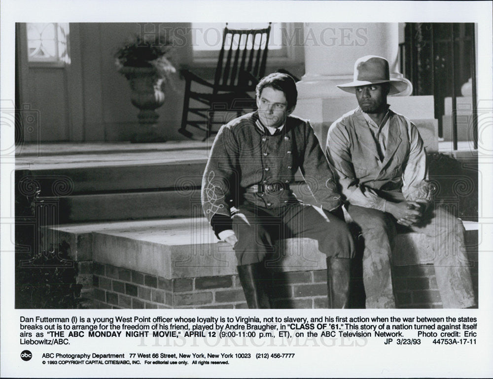 "1993 Press Photo Andre Braugher stars in ""Class of '61"" - Historic Images"