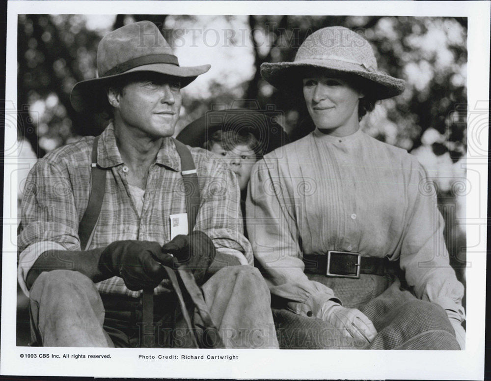 "1993 Press Photo Glenn Close & Christopher Walken on ""Skylark"" - Historic Images"