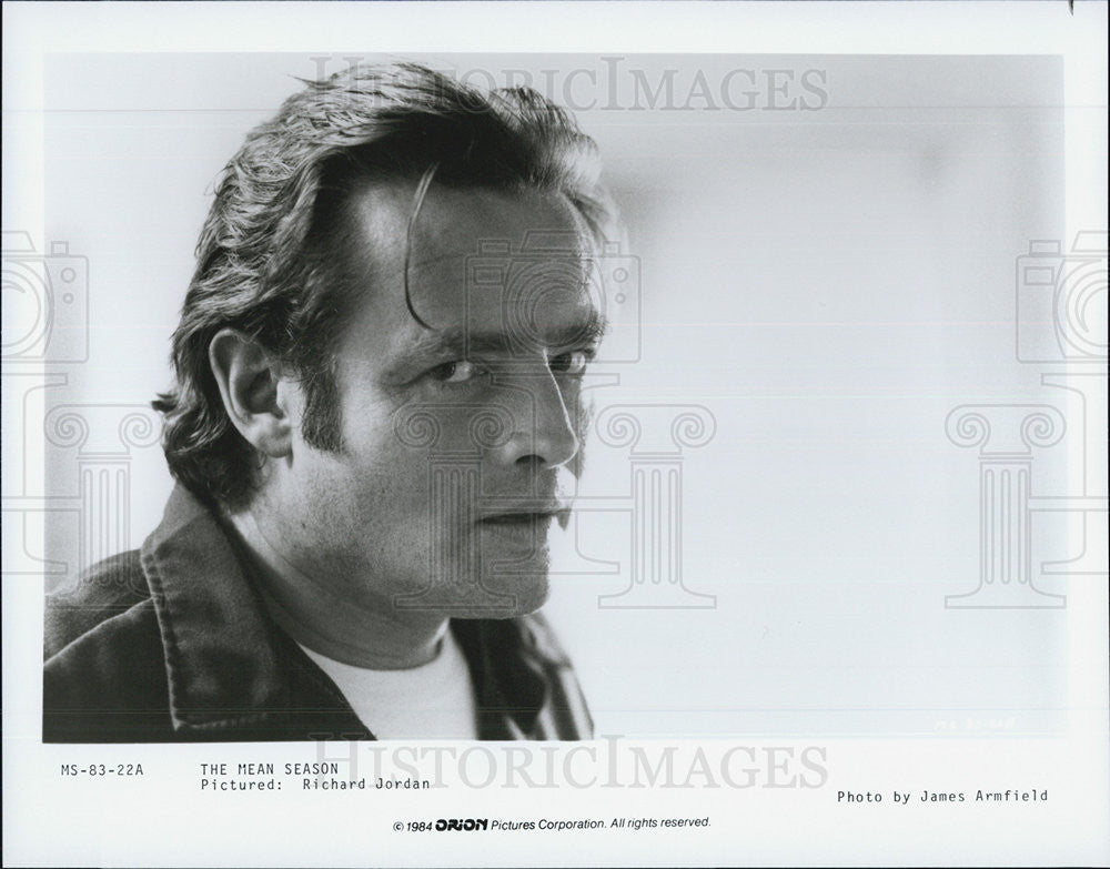 Press Photo Richard Jordan in The Mean Season - Historic Images