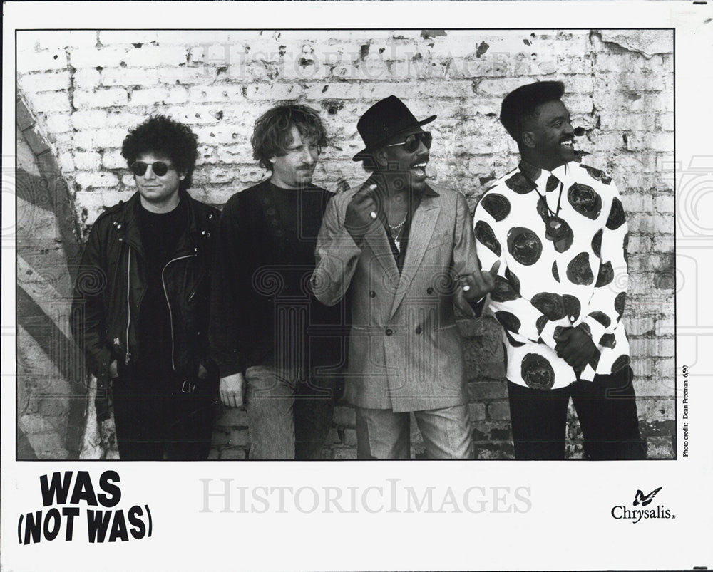 1990 Press Photo Was Not Was Entertainers Musicians - Historic Images