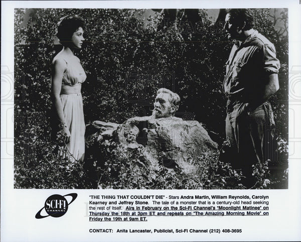 Press Photo Andra Martin/William Reynolds/Carolyn Kearney/Jeffrey Stone/Actor - Historic Images