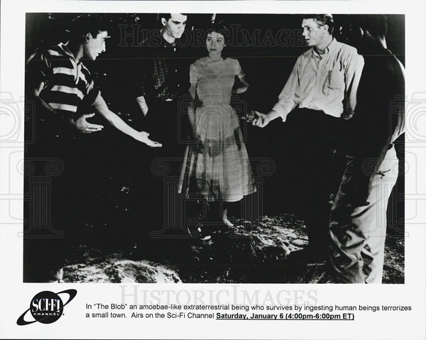 "1958 Press Photo ""The Blob"" - Historic Images"