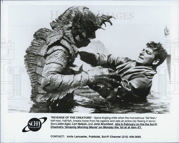 "1955 Press Photo ""Revenge of the Creature"" - Historic Images"