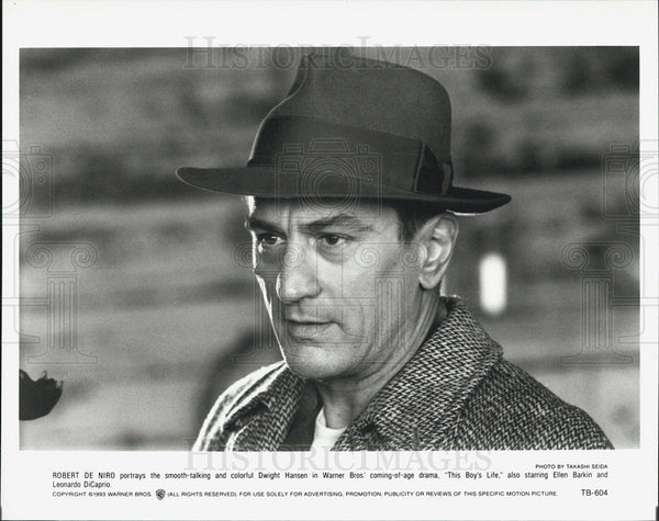 "1993 Press Photo Robert DeNiro in ""This Boy's Life"" - Historic Images"