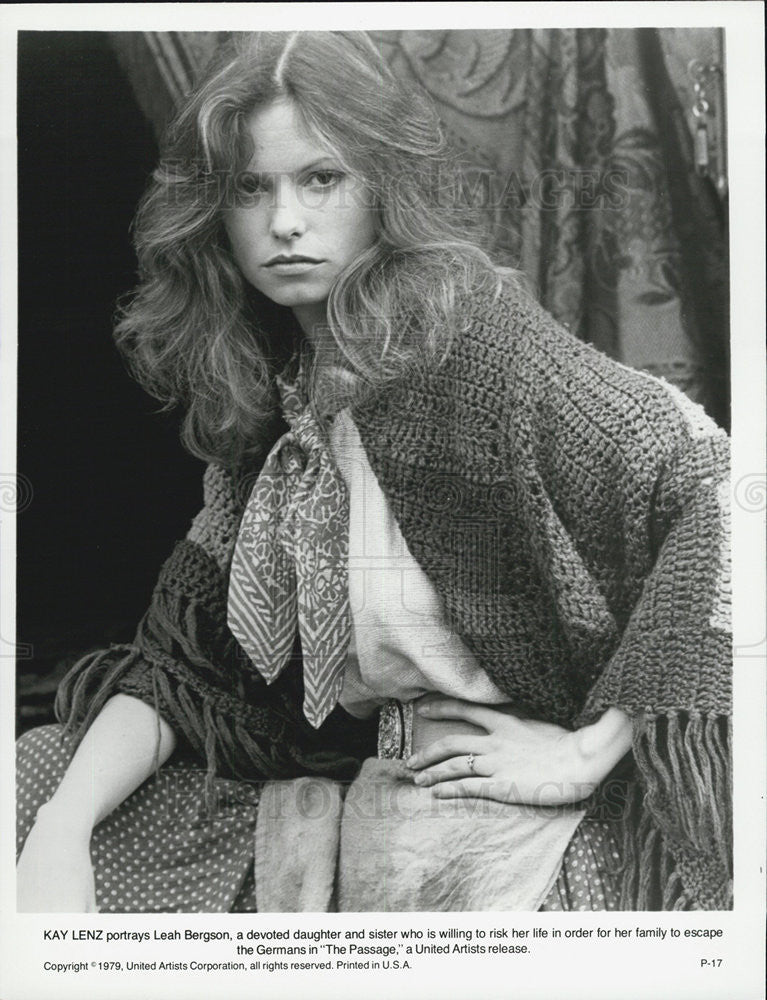 Kay Lenz In The Passage 1979 Vintage Promo Photo Print Historic Images