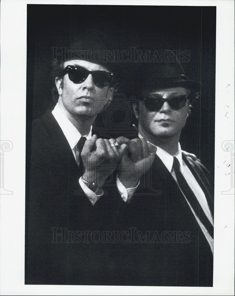 1989 Press Photo Scene From Movie Wired | Historic Images